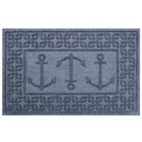 Weather Guard™ 23-Inch x 35-Inch Ahoy! Mat in Blue