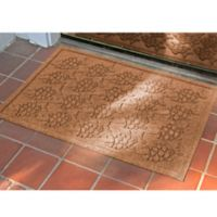 Weather Guard™ 23-Inch x 35-Inch Tropical Fish Mat in Brown