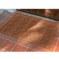 Weather Guard™ 23-Inch x 35-Inch Tropical Fish Mat in Dark Brown
