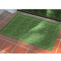 Weather Guard™ 23-Inch x 35-Inch Tropical Fish Mat in Light Green