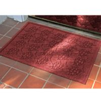 Weather Guard™ 23-Inch x 35-Inch Tropical Fish Mat in Dark Red