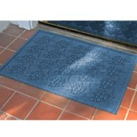 Weather Guard™ 23-Inch x 35-Inch Tropical Fish Mat in Medium Blue