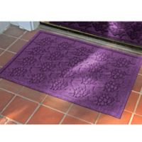 Weather Guard™ 23-Inch x 35-Inch Tropical Fish Mat in Purple
