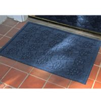 Weather Guard™ 23-Inch x 35-Inch Tropical Fish Mat in Navy