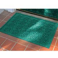 Weather Guard™ 23-Inch x 35-Inch Tropical Fish Mat in Aqua