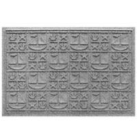 Weather Guard™ 23-Inch x 35-Inch Nautical Mat in Grey