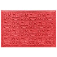Weather Guard™ 23-Inch x 35-Inch Nautical Mat in Red