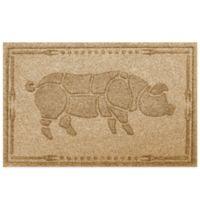 Weather Guard™ 23-Inch x 35-Inch Hog BBQ Mat in Gold