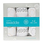 Honest in Collaboration with Aden + Anais® 3-Pack Organic Cotton Up in the Air Swaddles