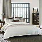 Kenneth Cole Reaction Home Etched Full/Queen Duvet Cover in Ivory