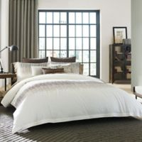 Kenneth Cole Reaction Home Etched Twin Comforter Set in Ivory