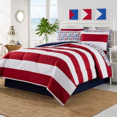 Rugby California King Comforter Set