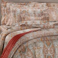 Bellino Fine Linens® Paisley King Pillow Sham in Orange