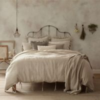 Wamsutta® Vintage Washed Linen Standard Pillow Sham in Linen