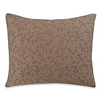 Wamsutta® Vintage Washed Embroidered Oblong Throw Pillow in Linen