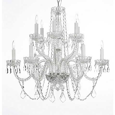 image of Gallery Crystal 12-Light Chandelier