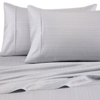 Barbara Barry® Subtle Strie Standard/Queen Pillowcases in Cinder (Set of 2)