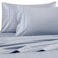 Barbara Barry® Subtle Strie Standard/Queen Pillowcases in Denim (Set of 2)