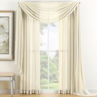 Reverie 108-Inch Sheer Window Curtain Panel in Ivory