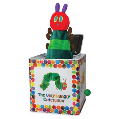 """Eric Carle """"Very Hungry Caterpillar"""" Jack in the Box"""