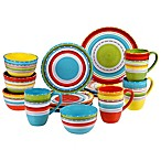 Certified International Mariachi 16-Piece Dinnerware Set