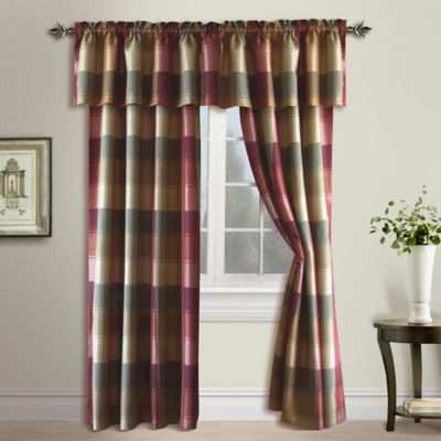 Buy Burgundy Curtains from Bed Bath & Beyond