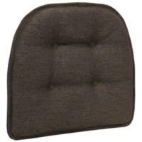 Klear Vu Tufted Omega Gripper® Chair Pad in Chestnut