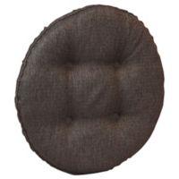 Klear Vu Omega Barstool Cover in Chestnut