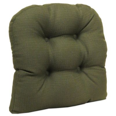Klear Vu Universal Omega Extra Large Gripper® Chair Pad In Evergreen