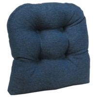 Klear Vu Universal Omega Extra-Large Gripper® Chair Pad in Indigo