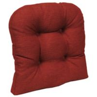 Klear Vu Universal Omega Extra-Large Gripper® Chair Pad in Flame