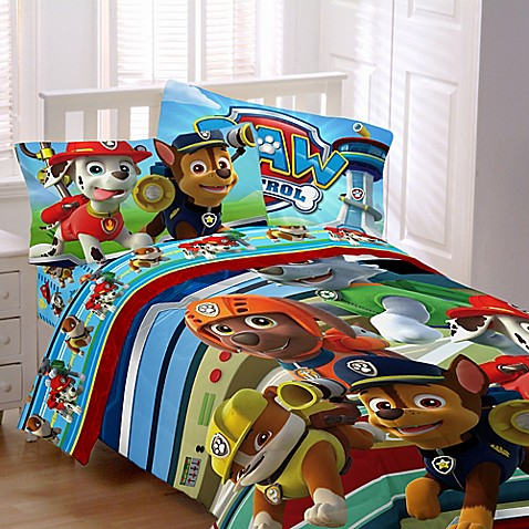 Nickelodeon Paw Patrol Twin Full Reversible Comforter