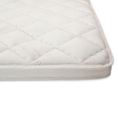 naturepedic king organic 3inch essentials pillowtop topper
