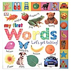 """My First Words: Let's Get Talking!"" Book"