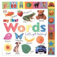 """""""My First Words: Let's Get Talking!"""" Book"""