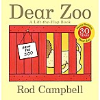 Dear Zoo  Board Book by Rod Campbell