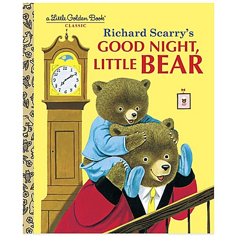 Richard Scarrys Good Night Little Bear Little Golden