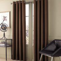 Valeron Stradivari 84-Inch Window Curtain Panel in Brown