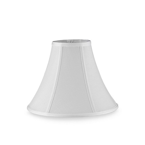 Mix Amp Match Small 11 Inch Bell Lamp Shade In White Bed
