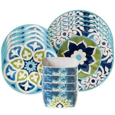 certified barcelona 12piece dinnerware set - Dishware Sets