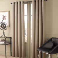 Valeron Stradivari 95-Inch Window Curtain Panel in Natural