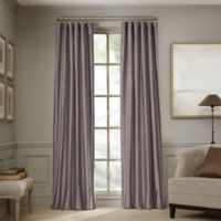 Valeron Estate 84-Inch Silk Window Curtain Panel in Amethyst