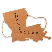 Thirstystone® Louisiana State Shaped Cork/Rope Trivet in Natural