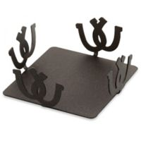 Thirstystone® Square Metal Roundup Coaster Caddy