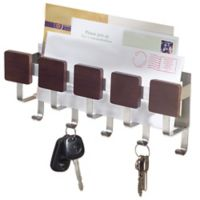 InterDesign® Formbu 5-Hook Key and Mail Center