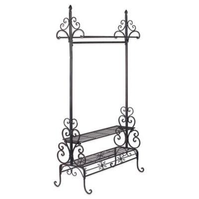 buy clothes rack storage from bed bath beyond. Black Bedroom Furniture Sets. Home Design Ideas