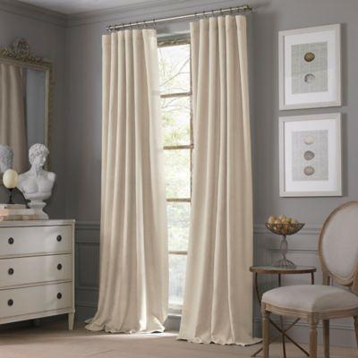 Valeron Estate Cotton Linen 108 Inch Window Curtain Panel In Sand