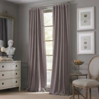 Valeron Estate Cotton Linen 108-Inch Window Curtain Panel in Amethyst