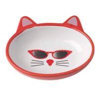Petrageous® Mon Ami Gigi Pet Bowl in Red/White