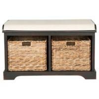 Safavieh Freddy Storage Bench in Brown